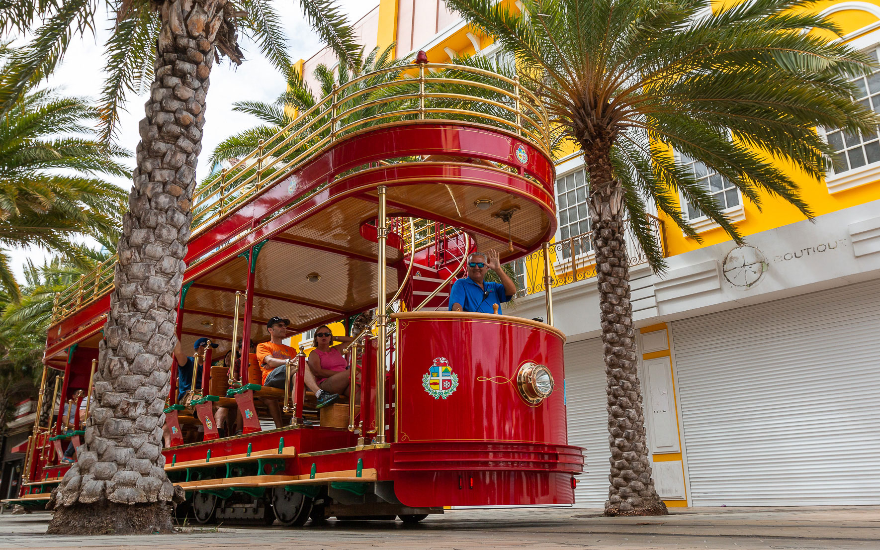 Tram Oranjestad Aruba