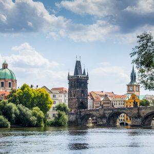 Moldau und Altstadt Prag