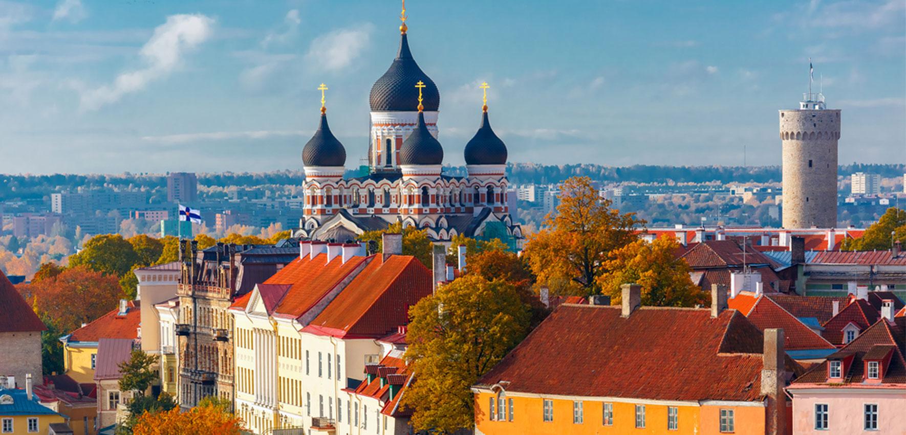 Tallinn Estland Aussichten
