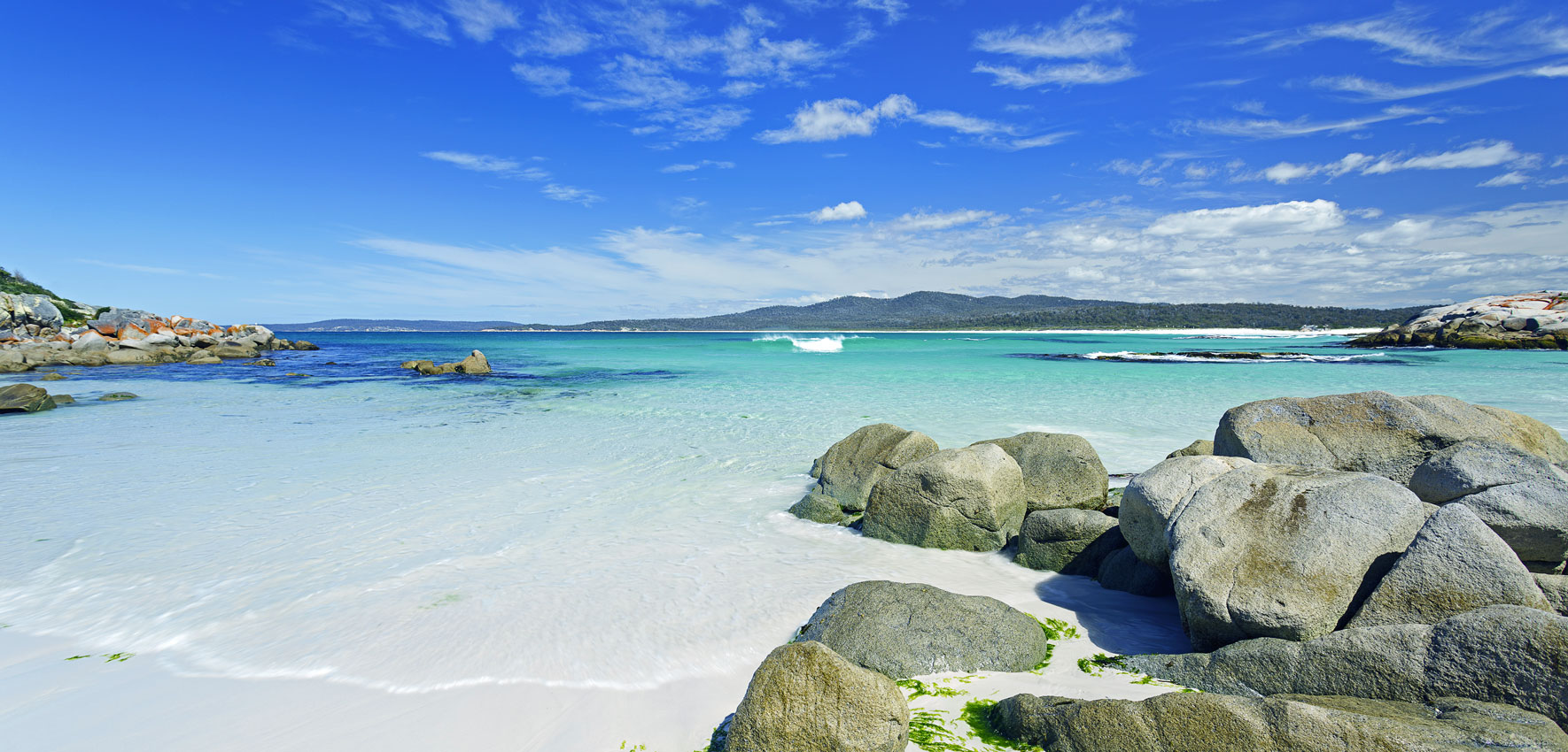 Bay of Fires, Tasmanien