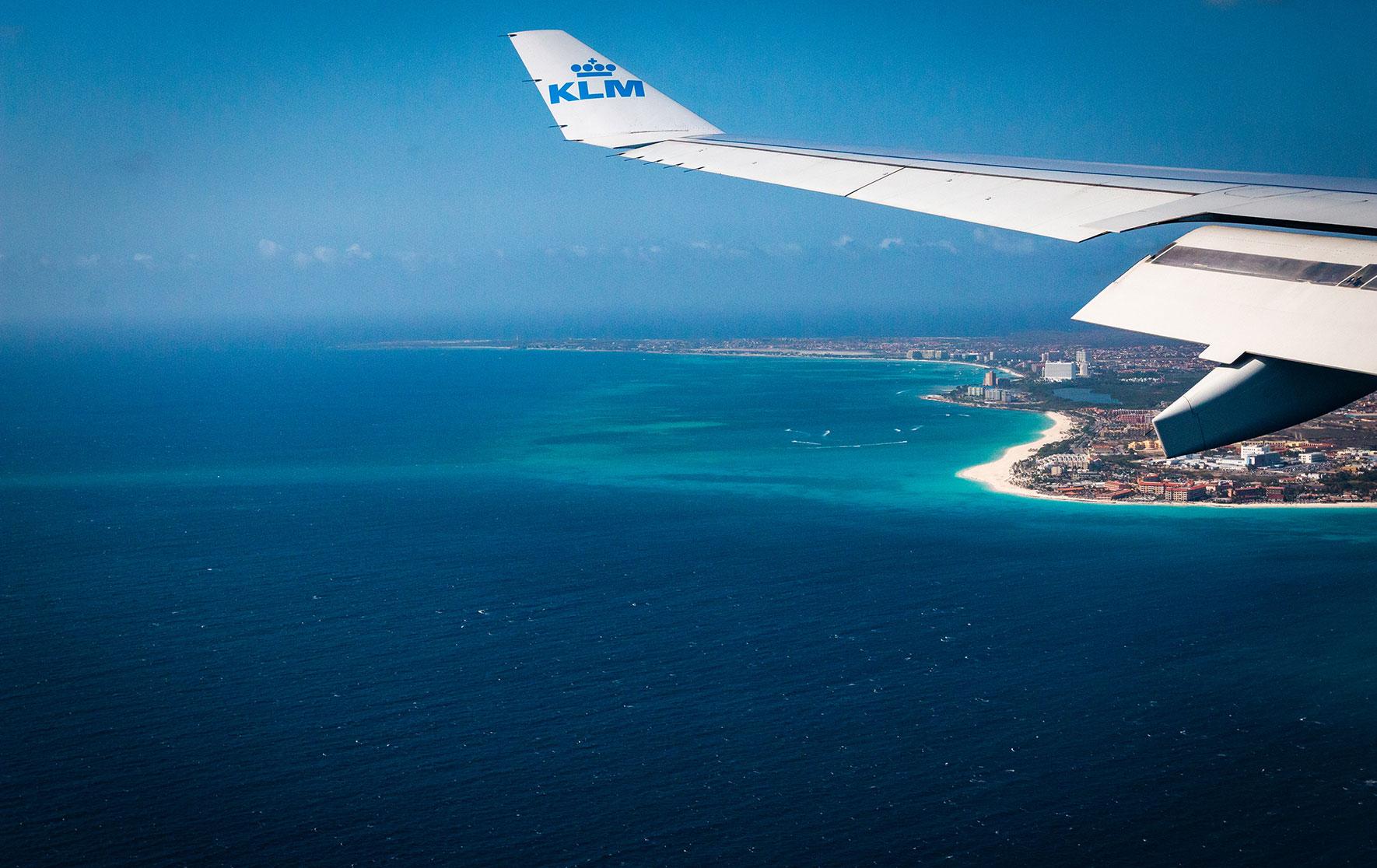 Anflug auf Aruba | Oranjestad