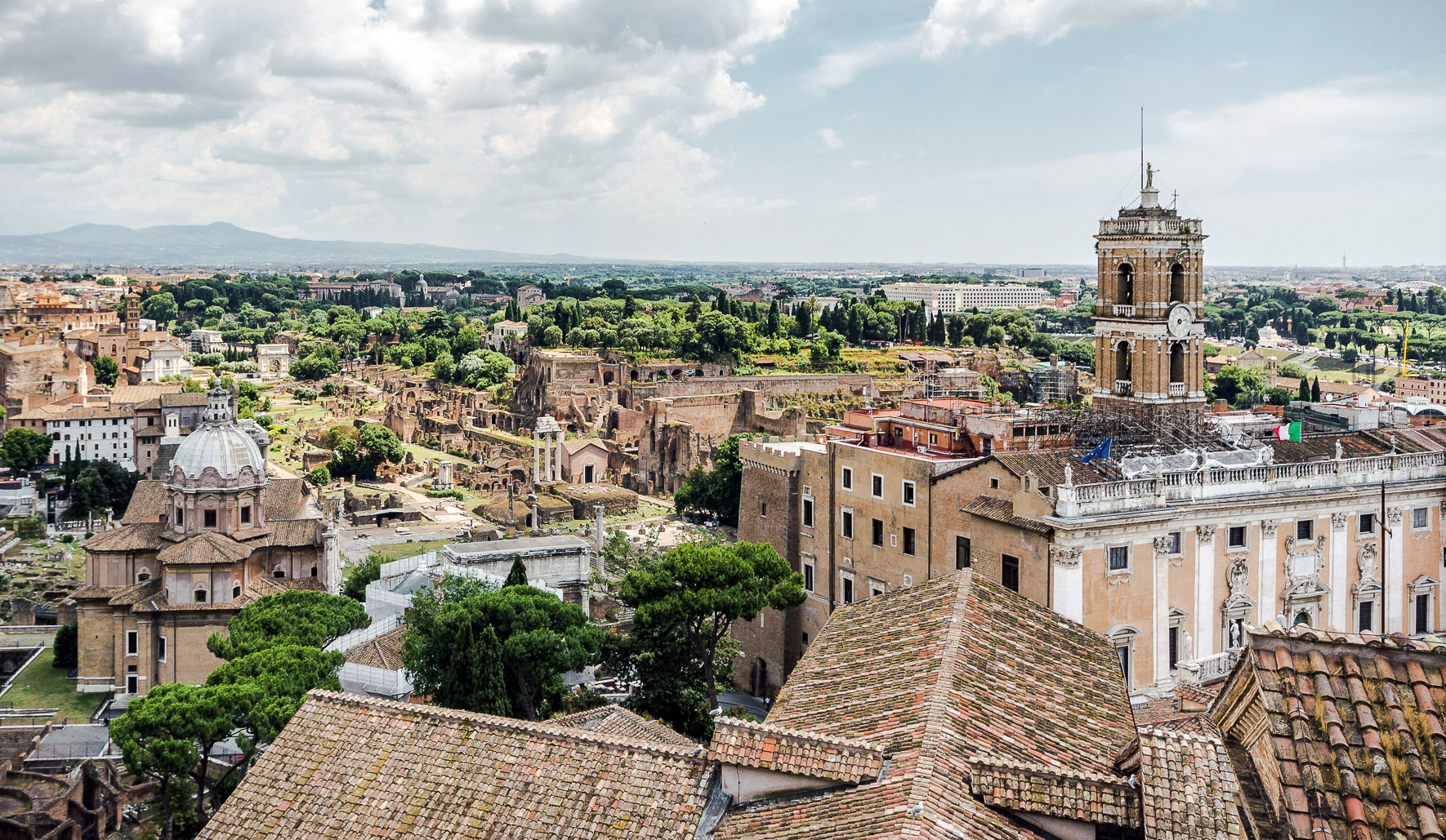 Vittoriano Dachterrasse Rom