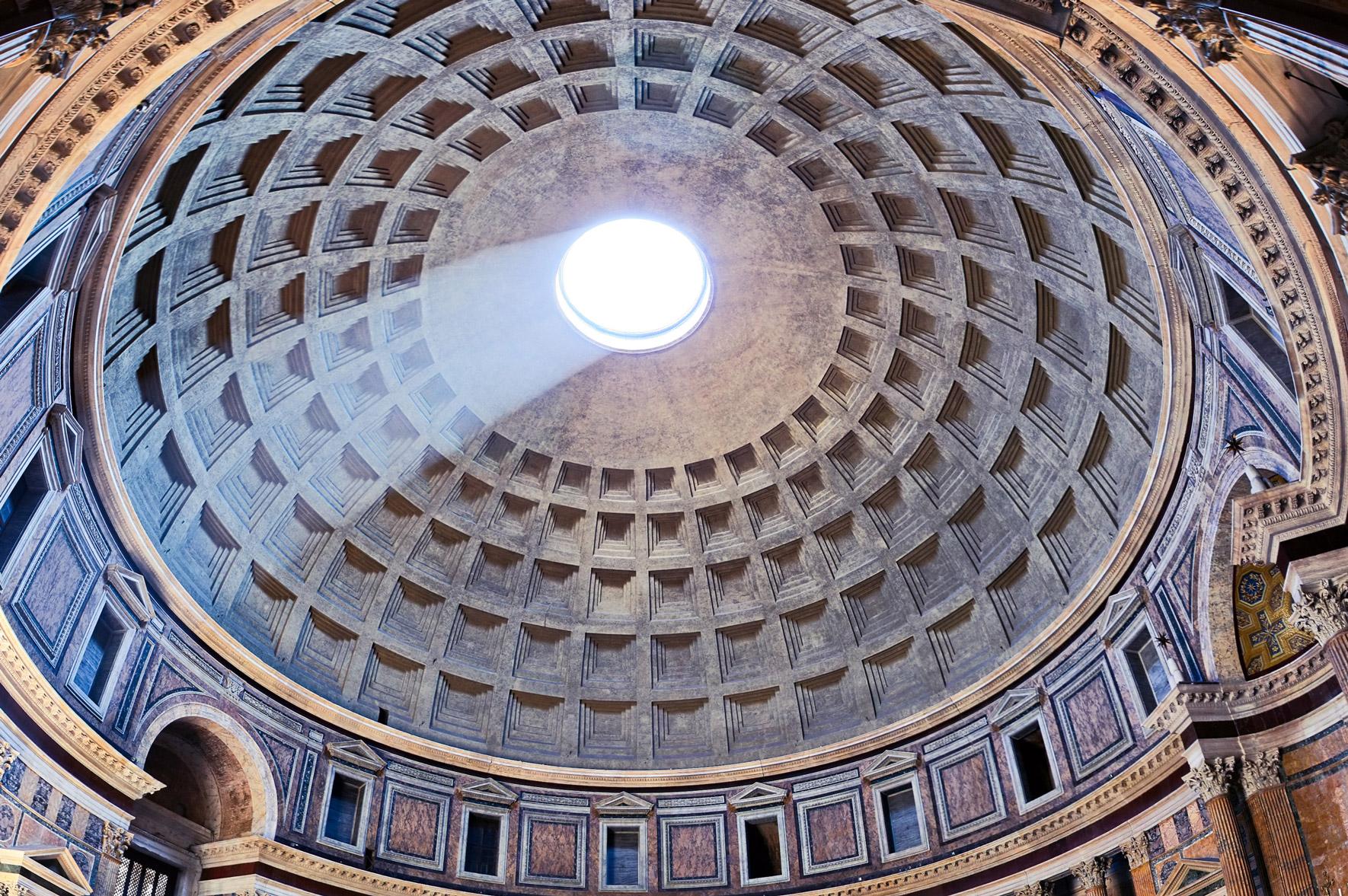 Rom Pantheon Kuppel