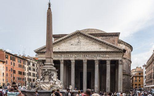 Pantheon Rom außen