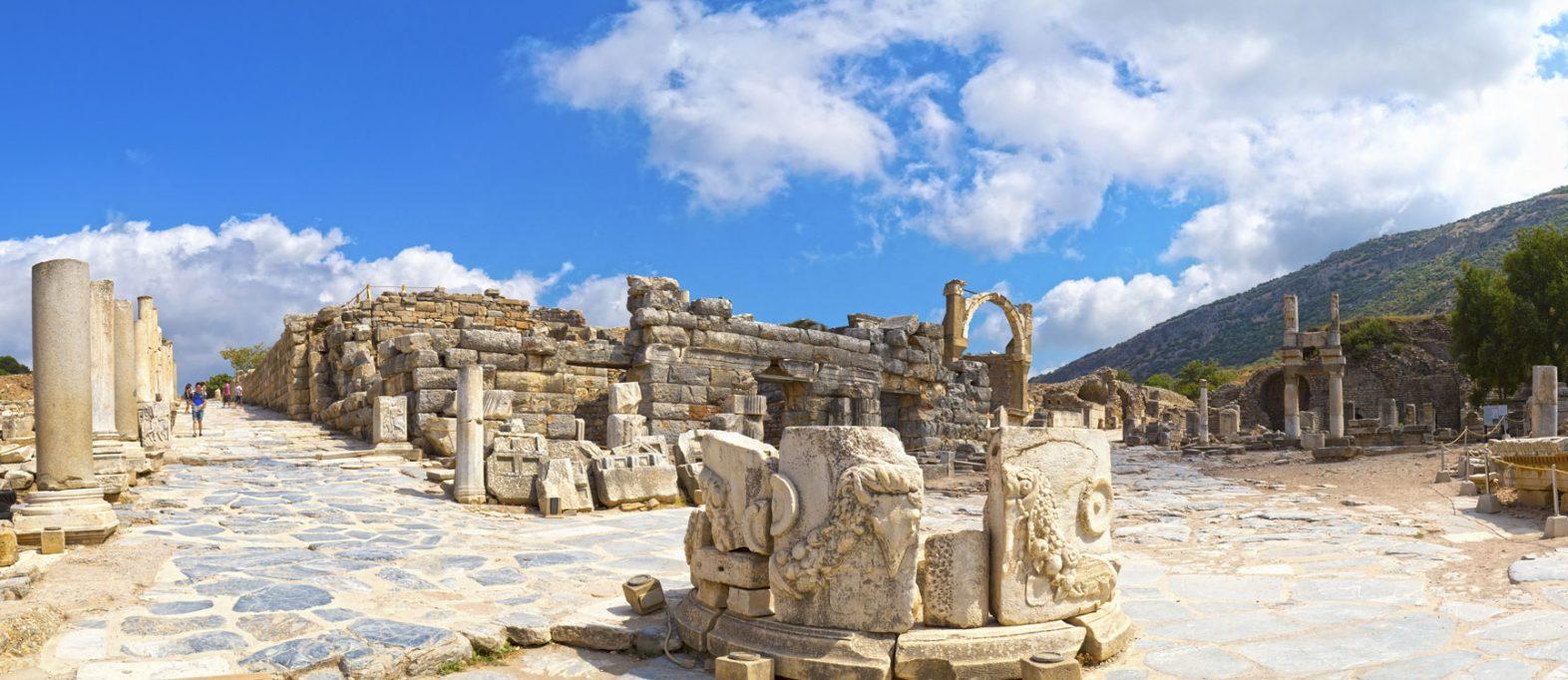 Ephesus Türkei (Adobe Stock ID: 179873219)