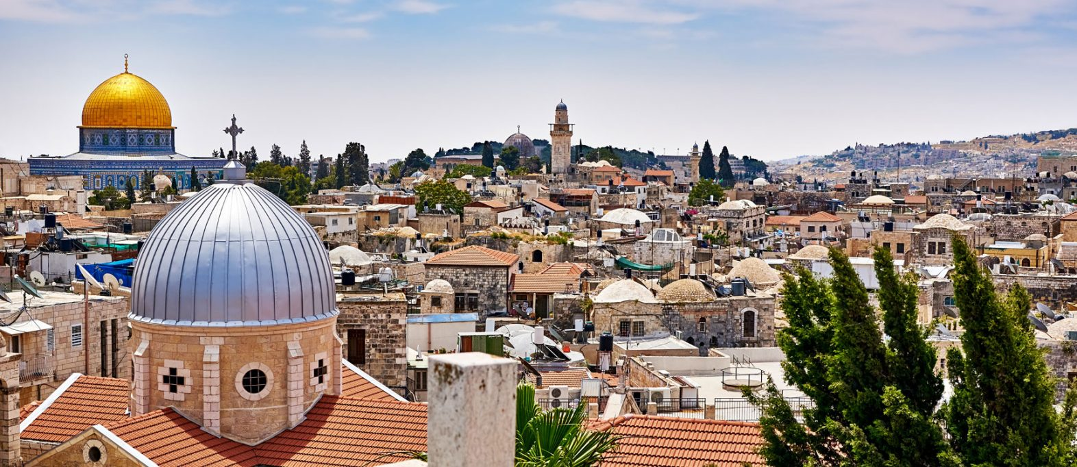 Jerusalem Ausblick Altstadt