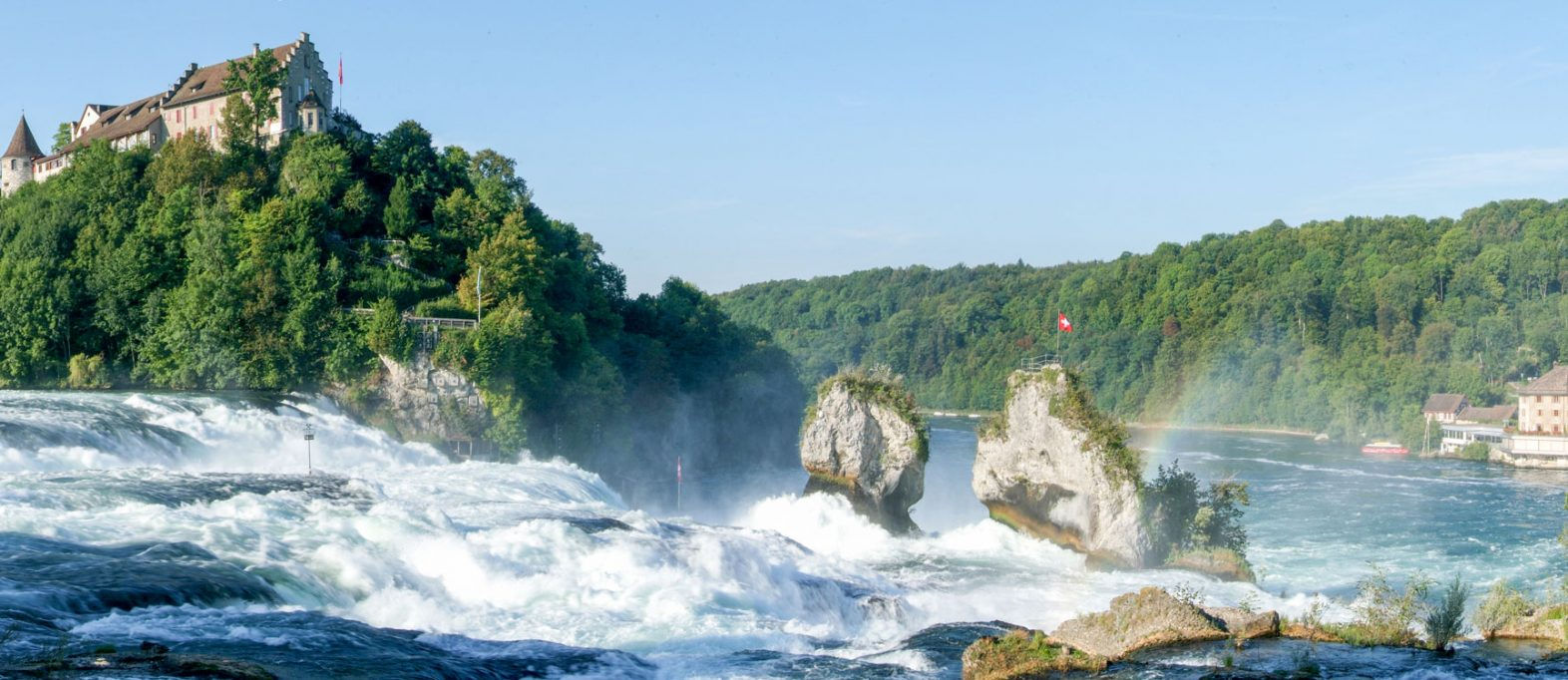 Rheinfall Neuhausen (credit: Adobe Stock ID: 140601308)