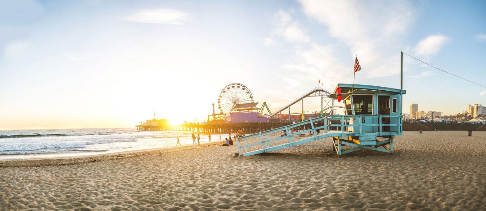 Santa Monica Pier |credit: Adobe Stock ID 139629299