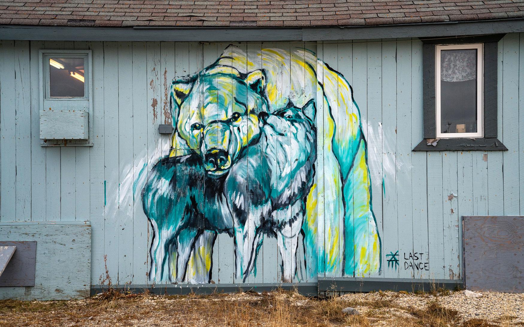 Seawalls Churchill Street Art