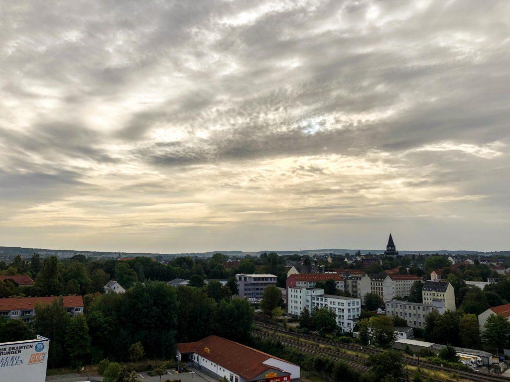 Chemnitz, die drittgrößte Stadt in Sachsen.