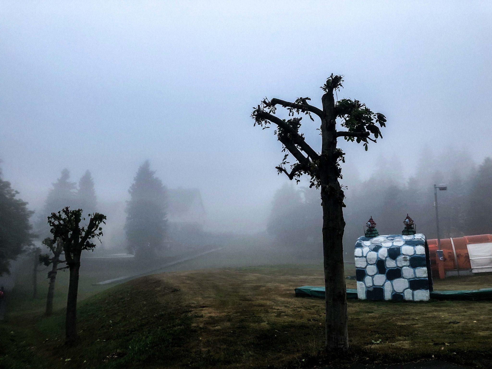 Oberwiesenthal Nebel Erzgebirge