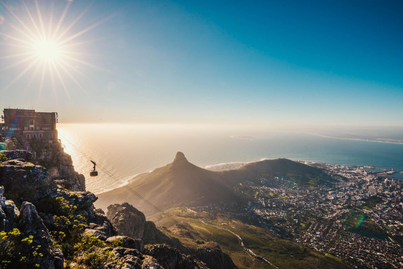 Reiseziele November Südafrika Kapstadt