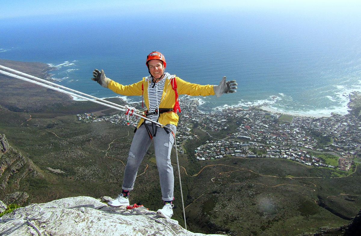 Kapstadt Tafelberg Abseil Africa
