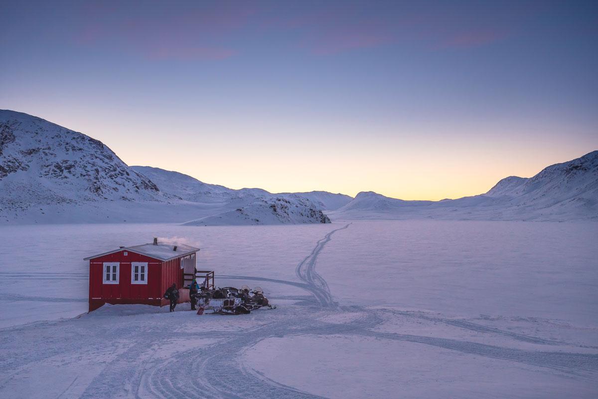 Arctic Circle Trail in Grönland.