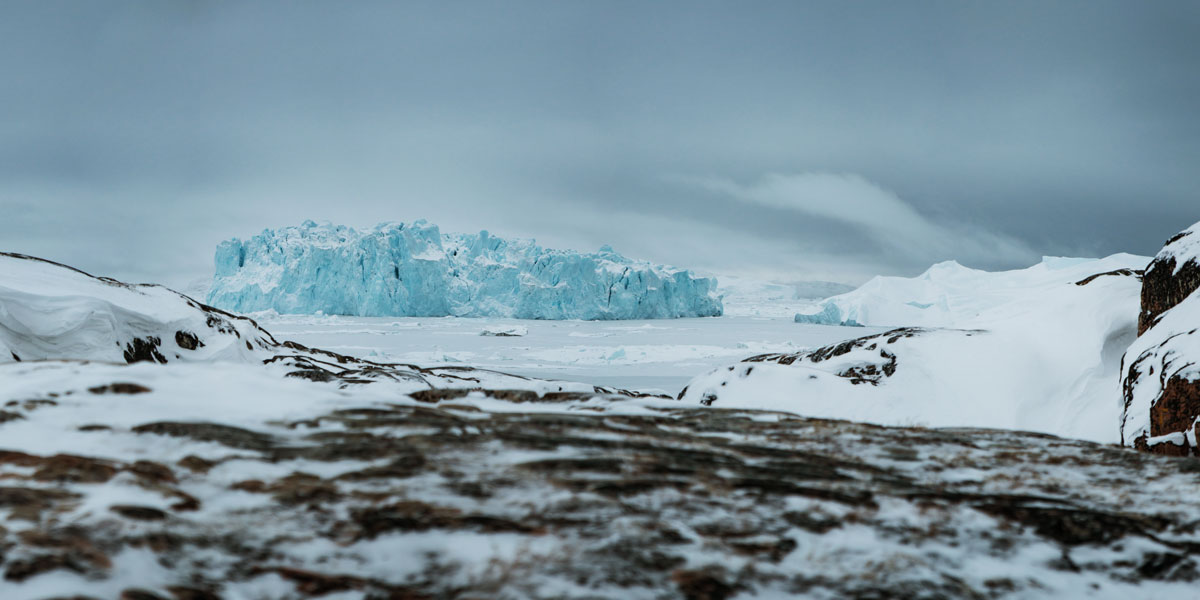 Diskobucht Eisberge Grönland