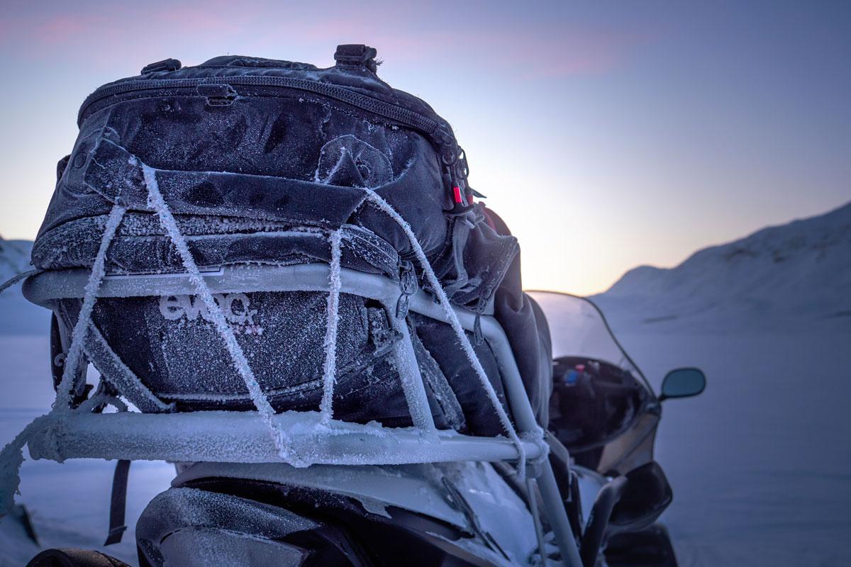 Gefroren Grönland Winter