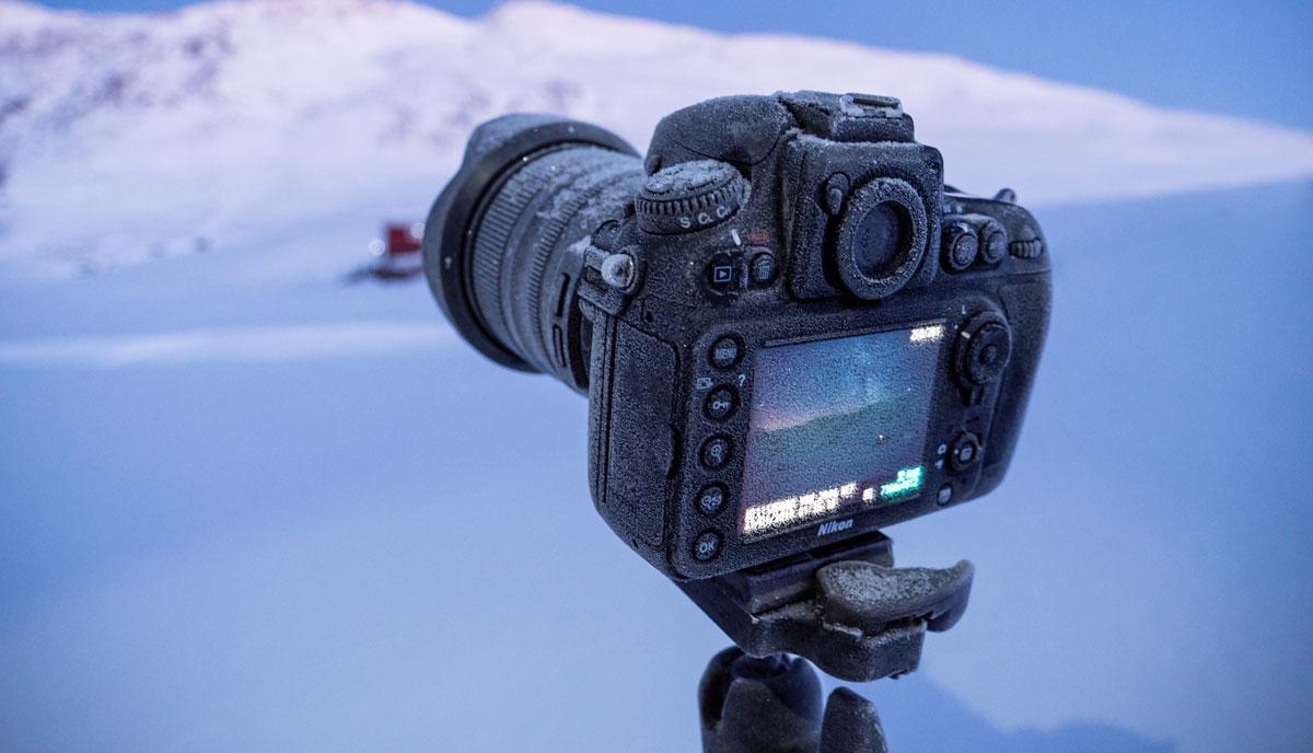 Grönland Kamera funktioniert Eis