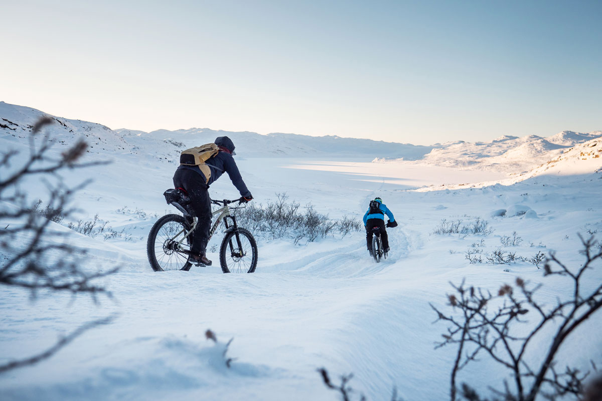 Mountainbike Arctic Circle Trail