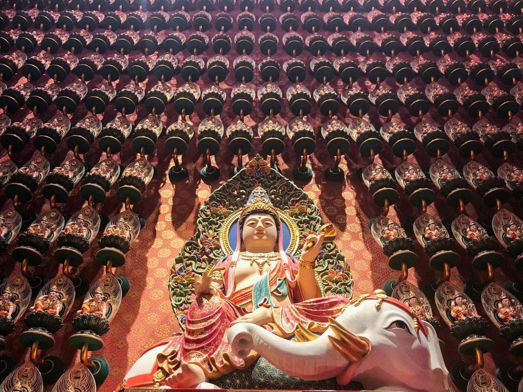 """Buddha Tooth Relic Temple"" Singapur"