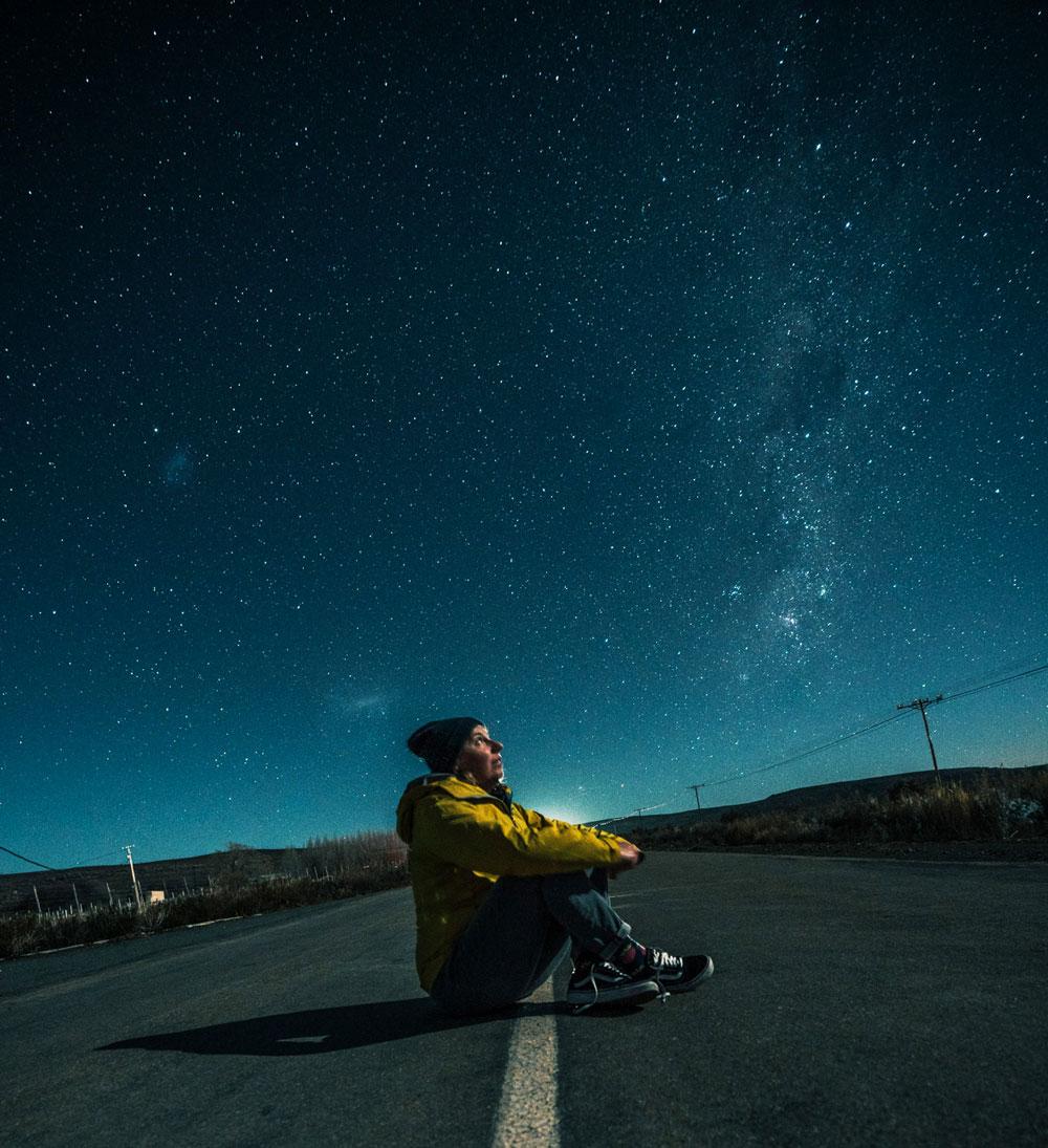 Sternenhimmel schauen in Sutherland, Südafrika