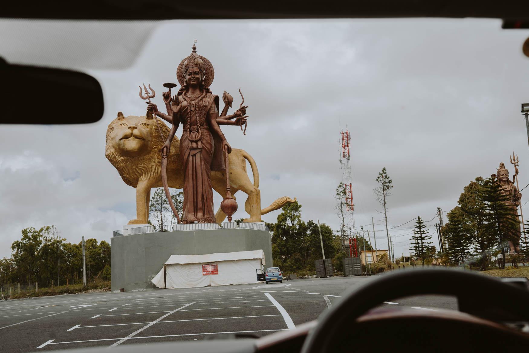 Durga Statue Mauritius