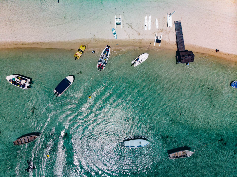 Boote in Mauritius