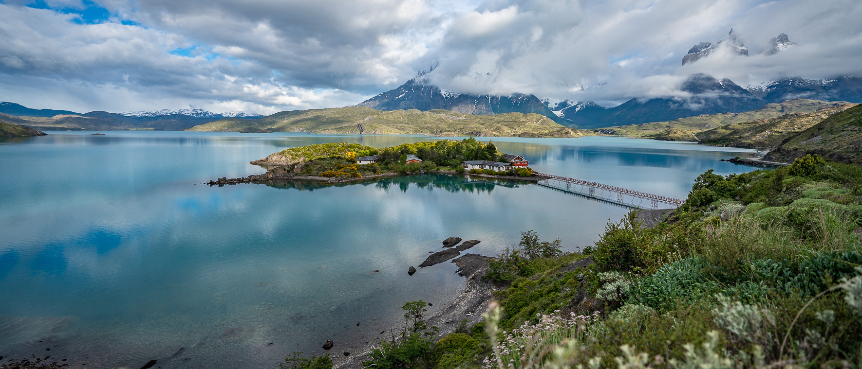 Lake Pehoe im Torres del Paine