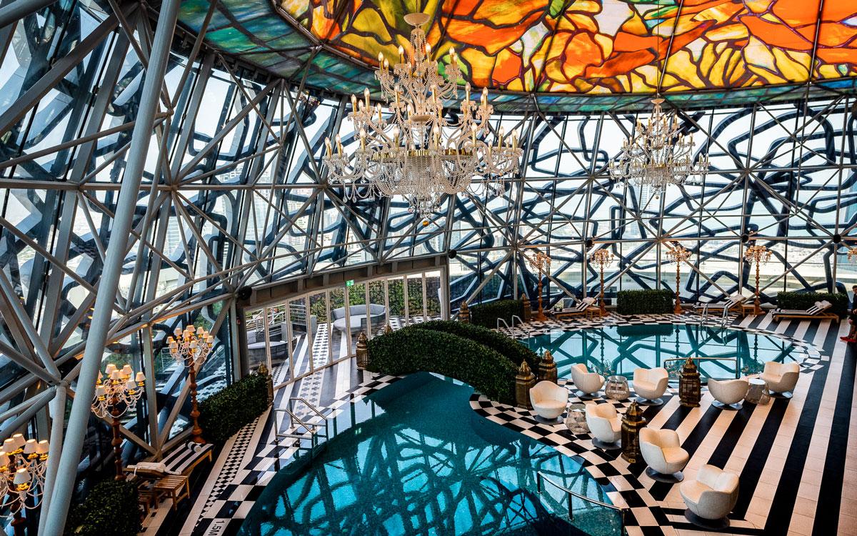 Hotel Pool Mondrian Doha