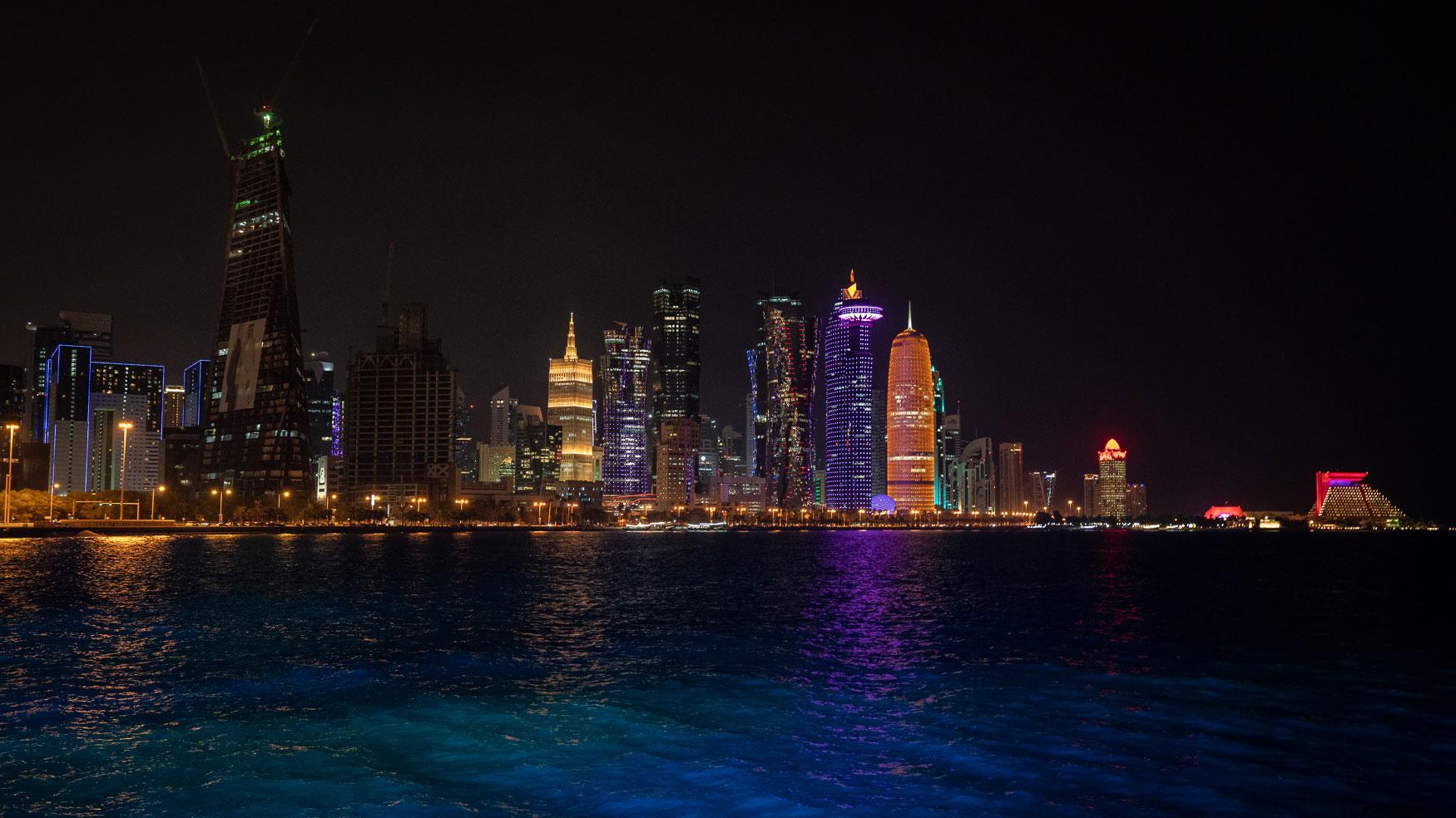 Qatar Tipps Ausblick Al Mourjan Restaurant