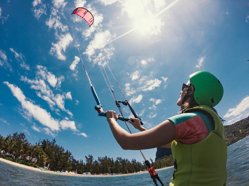 Kite Surf Training in Le Morne