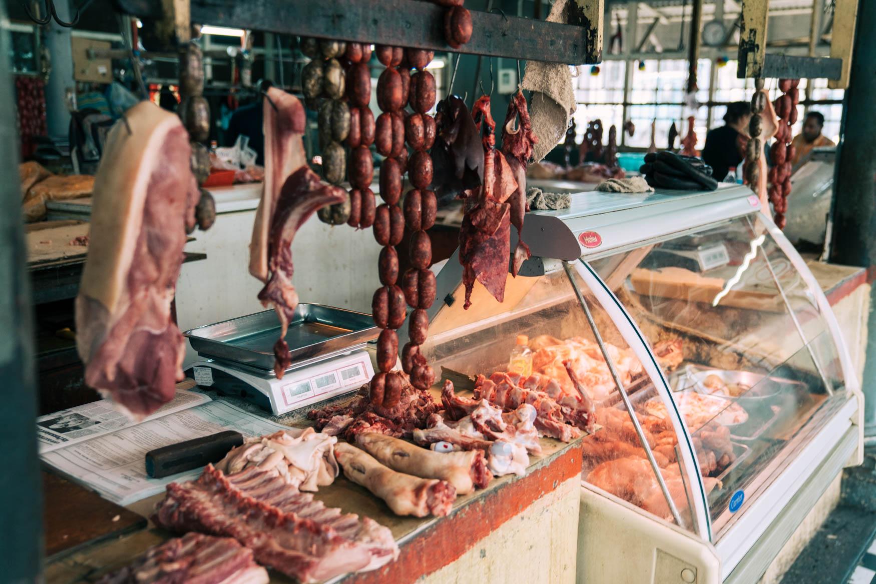 Fleischhalle im Zentralmarkt