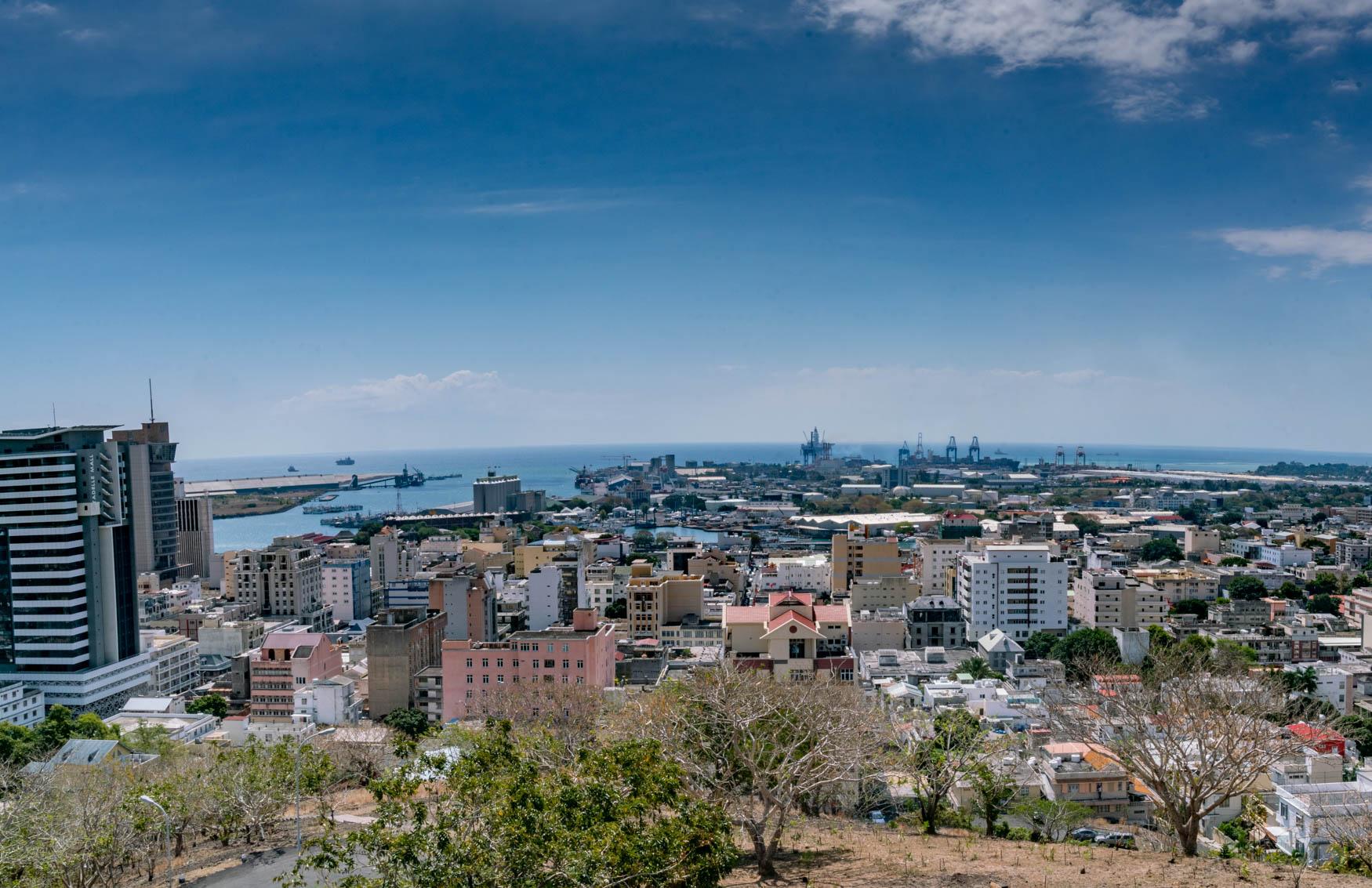 """Aussicht von """"La Citadelle"""""""