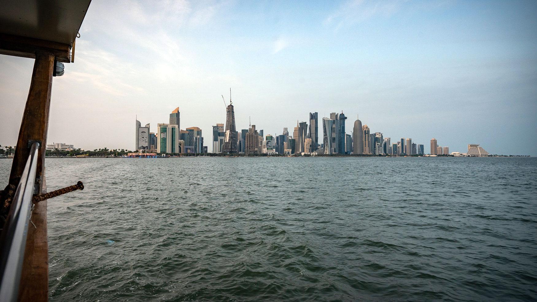 Aussichten Doha Dhau Cruise