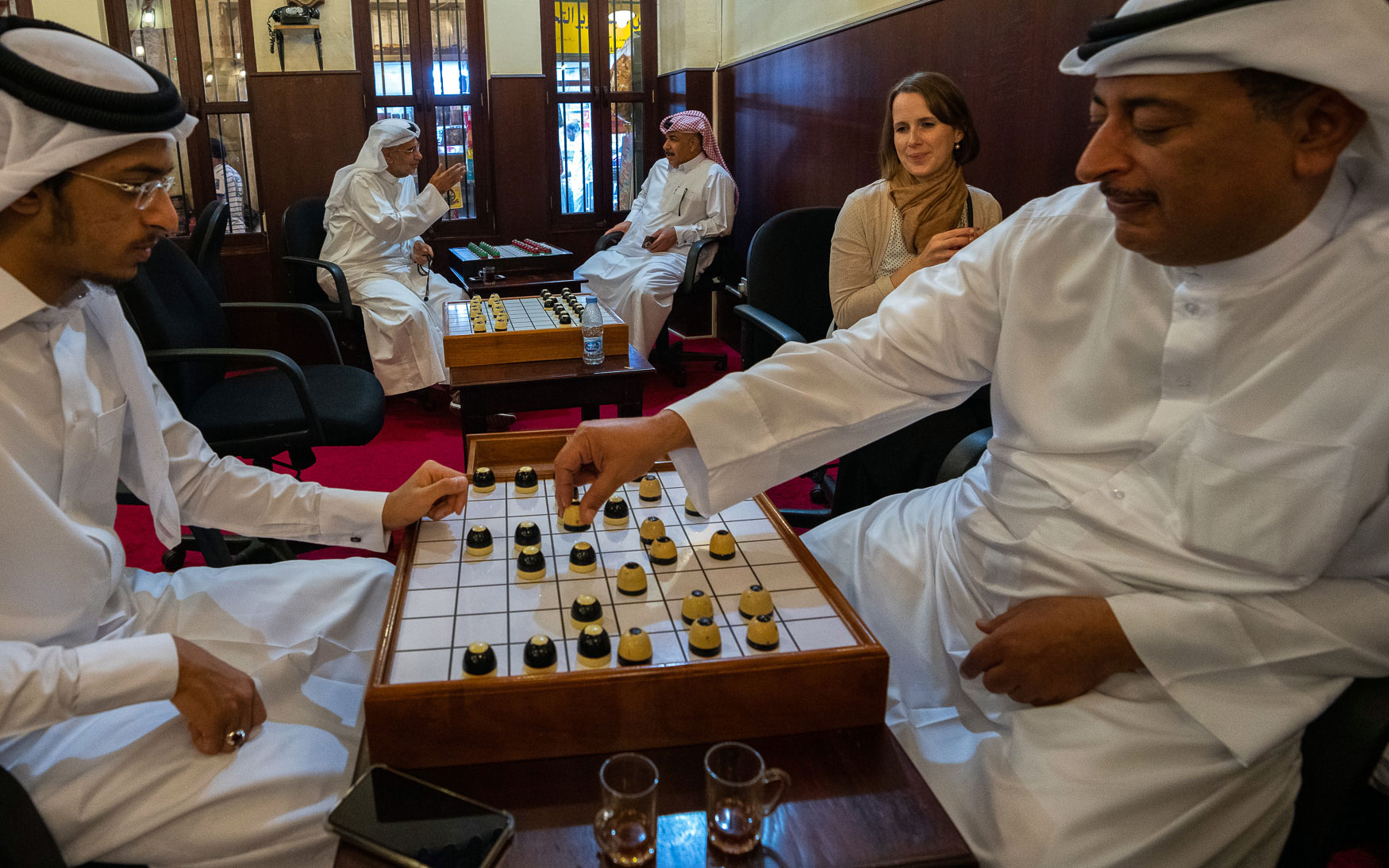 Doha Tipp Dama spielen Souk Waqif