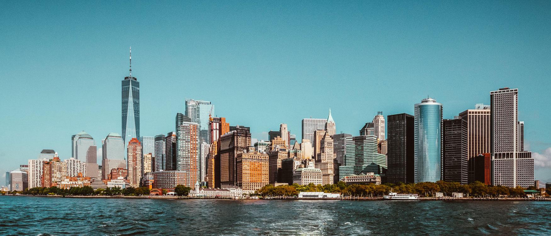 Sehenswürdigkeiten New York Skyline