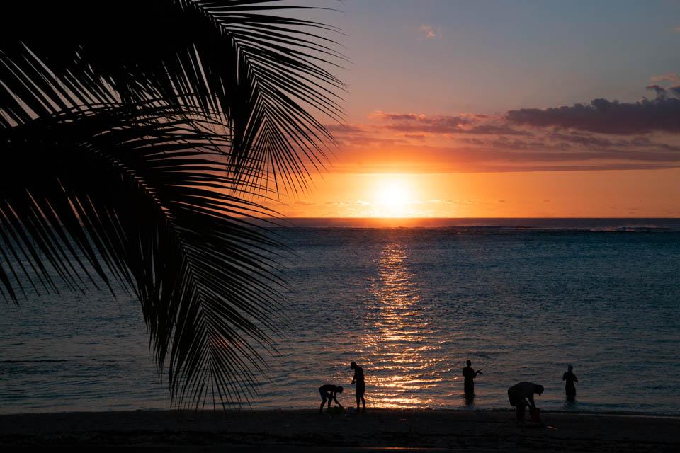 Sonnenuntergang im St. Regis Mauritius