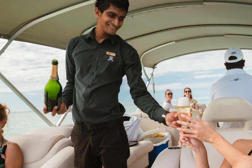 Bootsfahrt St. Regis Mauritius