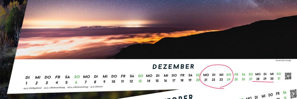 Brückentage 2020 – der beste Urlaubsplaner für gesetzliche Feiertage!