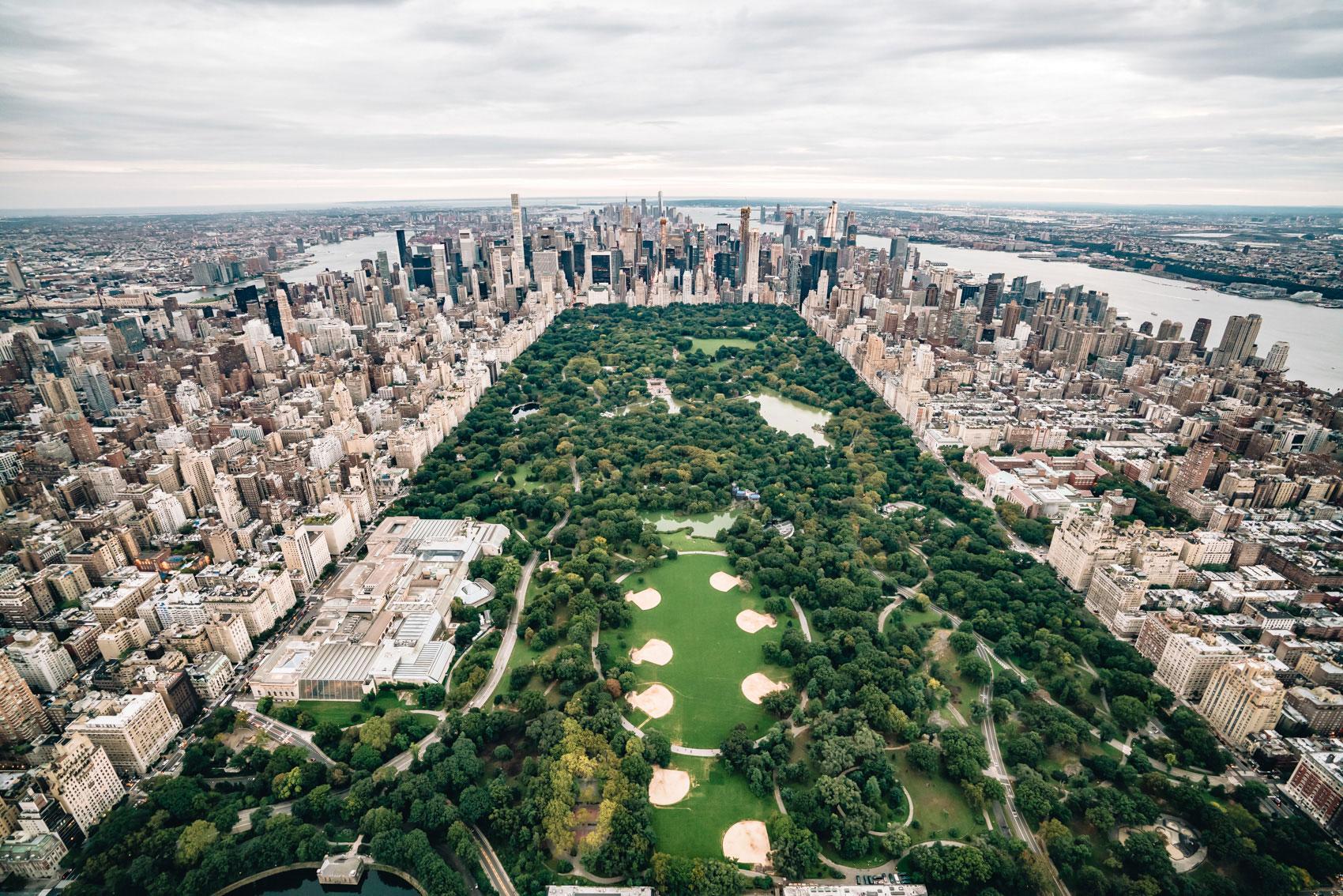 Helikopterflug New York ohne Türen