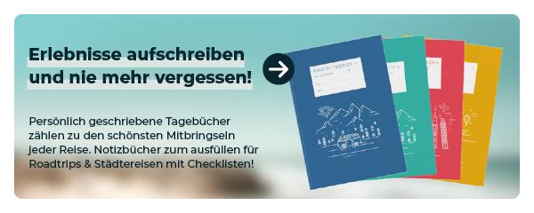 Reisetagebuch Notizbuch kaufen