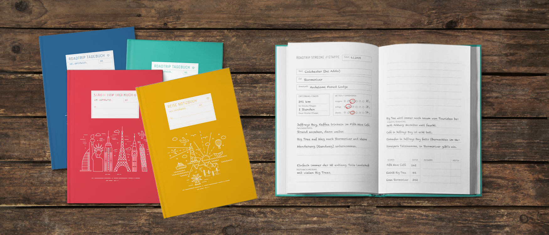 Reisetagebuch selber schreiben Tipps
