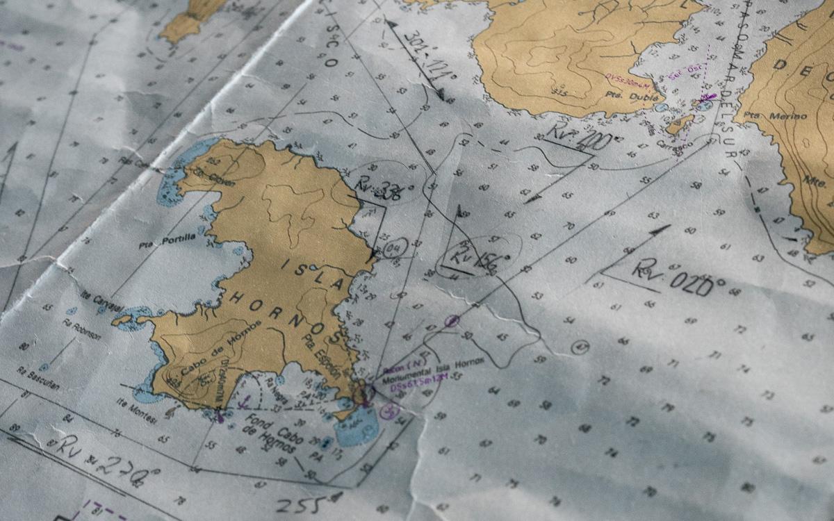 Seekarte Kap Hoorn