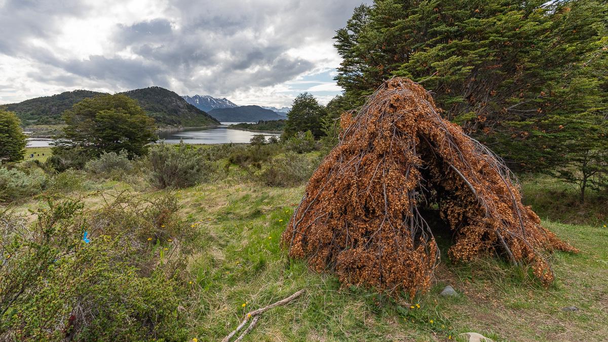 Yagan Hütte Wulaia Bucht