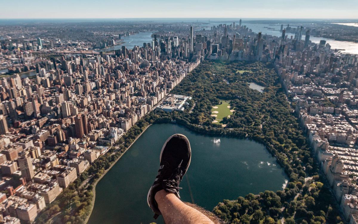 Hubschrauber Rundflug Central Park