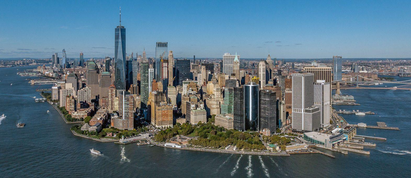 Helikopterflug New York Manhattan
