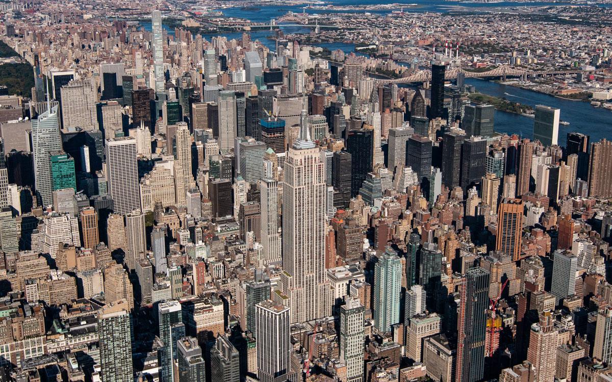 Helikopter-Rundflug Manhattan