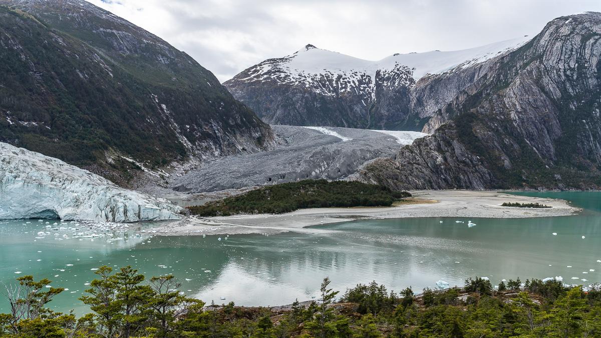 Moräne Pia Gletscher