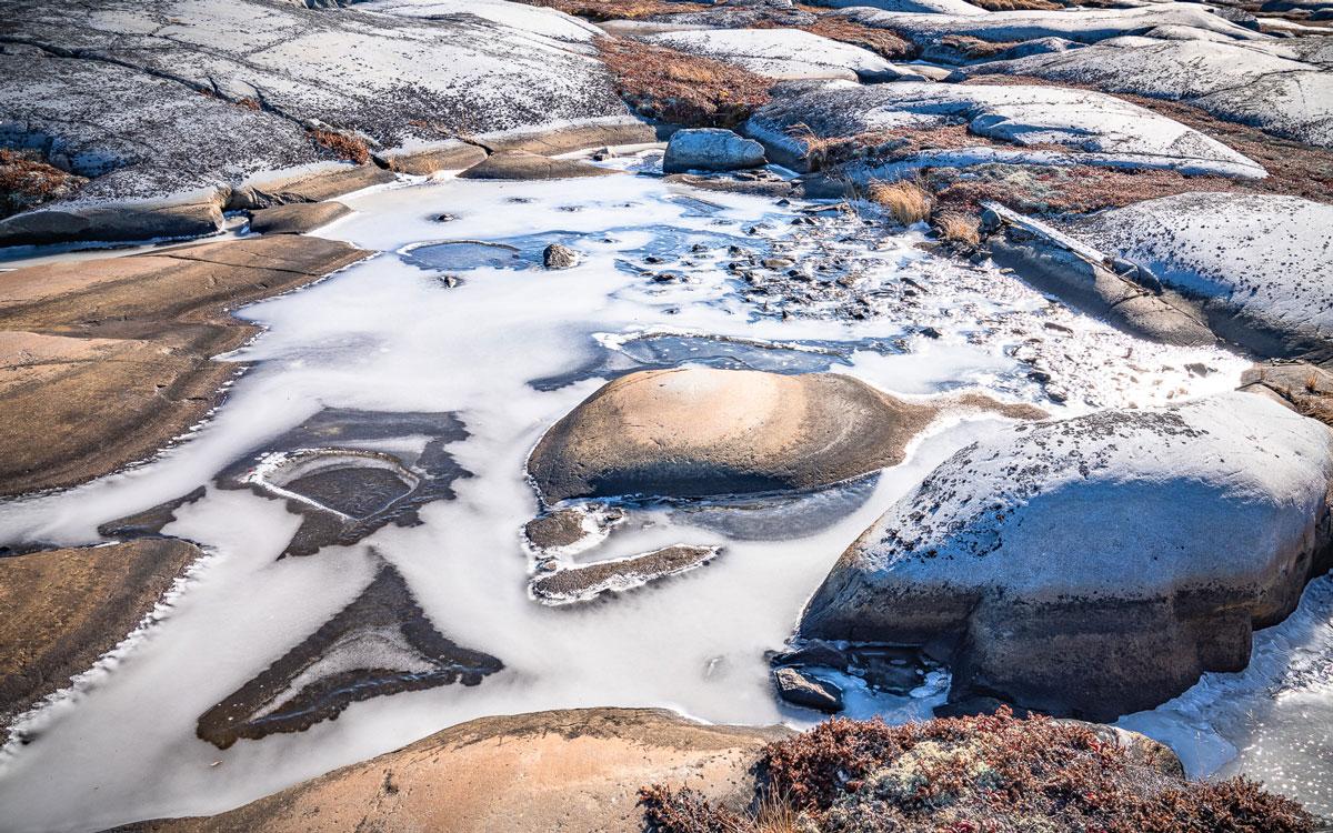 Permafrost Manitoba Churchill