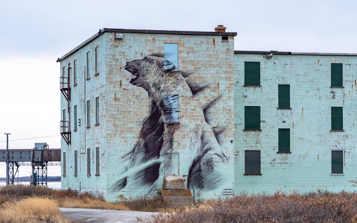 Sea Walls Churchill Street Art