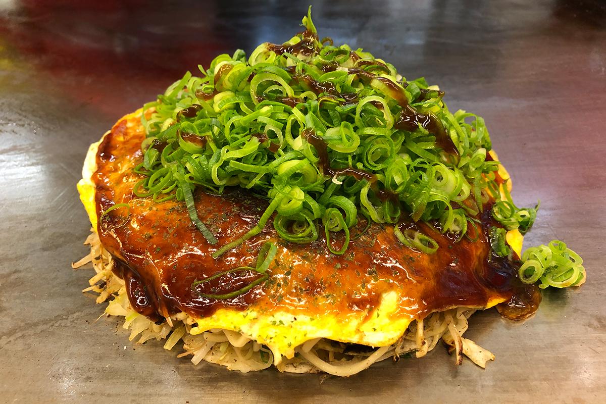 Onkonomiyaki Hiroshima Style